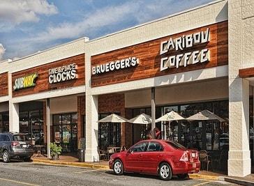 Park Road Shopping Center in North Carolina